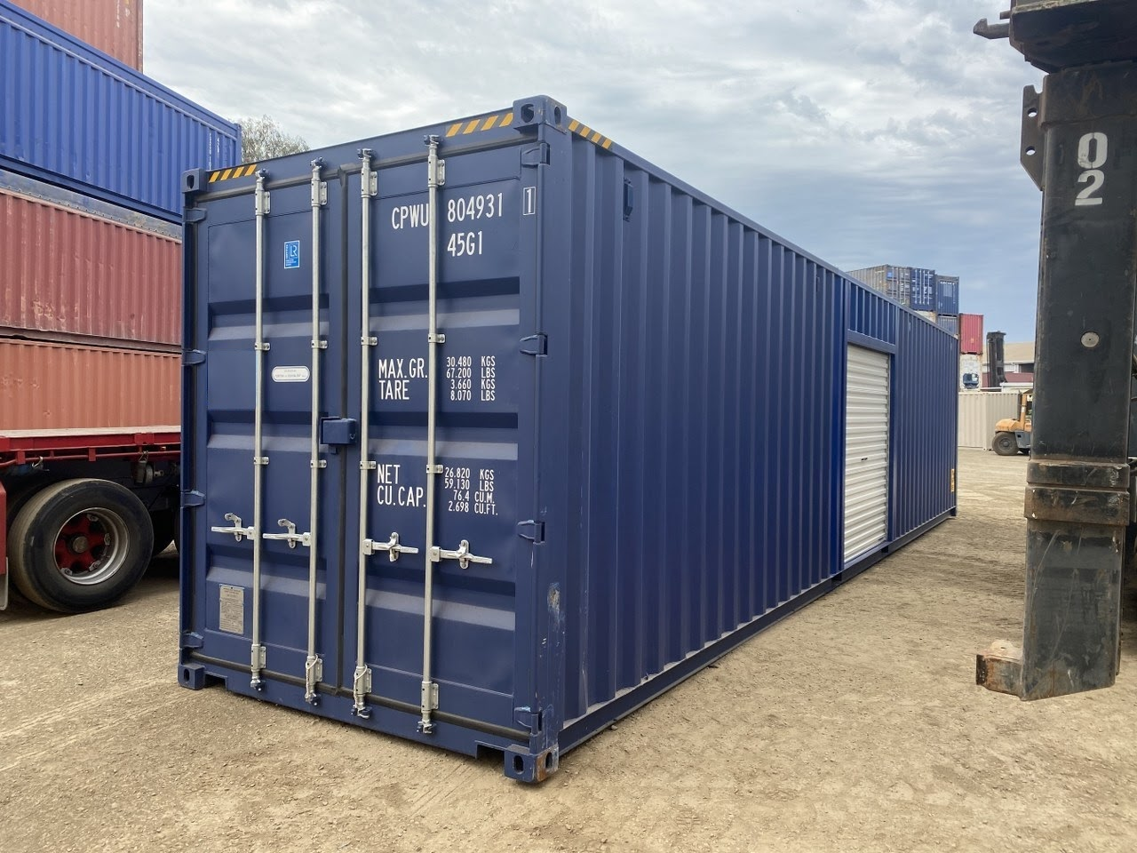 40 foot modified shipping containers